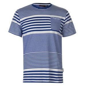 Mix Stripe T Shirt pánské
