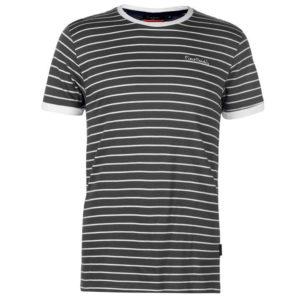 Stripe Ringer T Shirt Mens