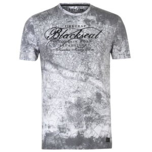 Blackseal Londýn Mapa tričko