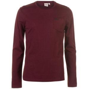 Essential LS Pocket T Shirt pánské