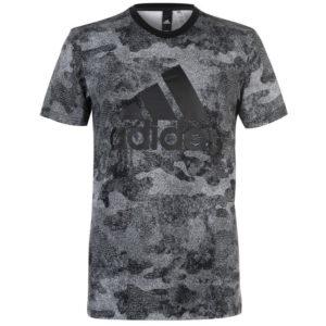 Lineární Camouflage T Shirt pánské