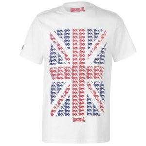 Tričko LDN Flag T Shirt pánské