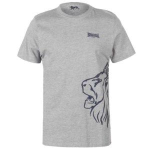 LDN Lion T Shirt Pánské