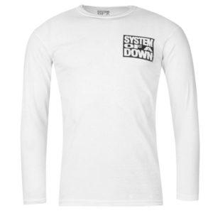Oficiální systém Down LS T Shirt pánské