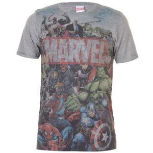 Marvel AOP T Shirt pánské