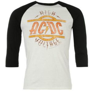 ACDC Raglan T Shirt pánské