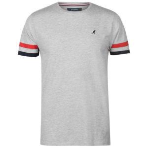 Stripe Sleeve T Shirt Pánské