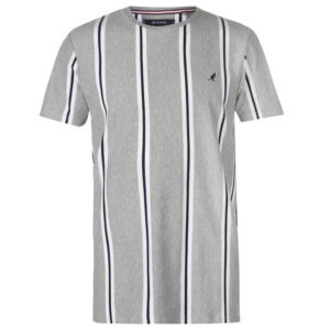 Tričko Vertical Stripe T Shirt Mens