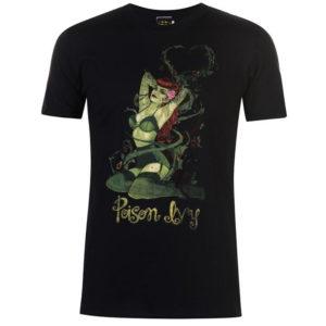 Charakter Poison Ivy T Shirt Pánské
