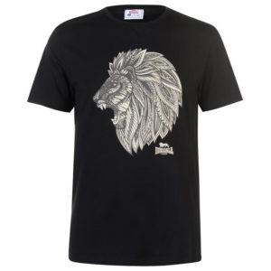 Lion T Shirt Pánské