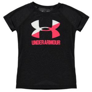 Big Logo s krátkým rukávem tričko Junior Girls