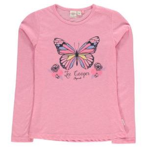Dlouhý rukáv T Shirt Junior dívky
