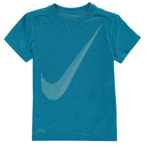 3D Swoosh T Shirt Junior dívky