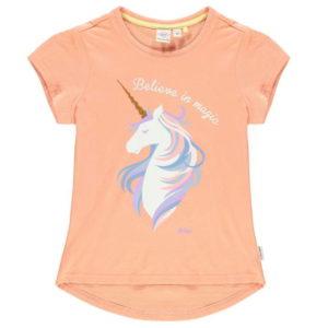 Módní Logo T Shirt Junior Dívky