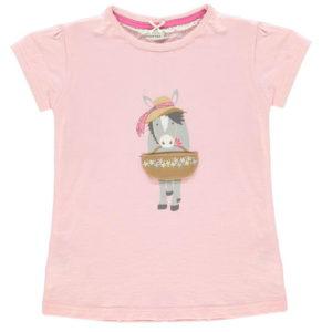 Krátký rukáv Pouzdro T Shirt dětské dívky