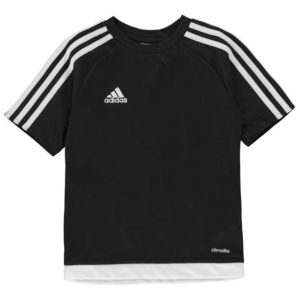 3 Stripe Estro T Shirt Junior Kluci