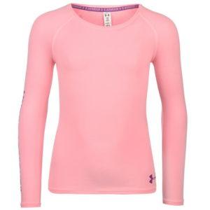 HeatGear dlouhý rukáv T Shirt Junior dívky