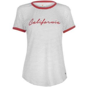 Pruhované Kalifornie tričko