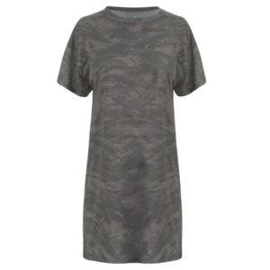 Černé tričko Camo T Shirt