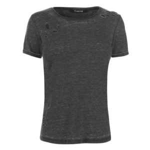 Blackseal Distressed Burnout T Shirt