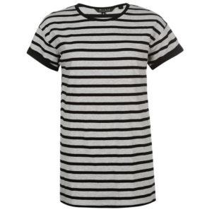 Long Line příze Dye Boy T-shirt tričko dámské