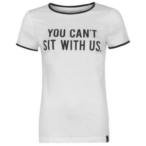 Slogan T Shirt Ladies