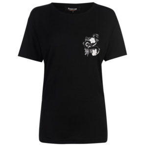 Blackseal Chest Print T Shirt