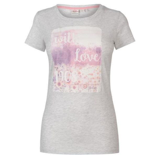 Módní fotografické tričko dámské