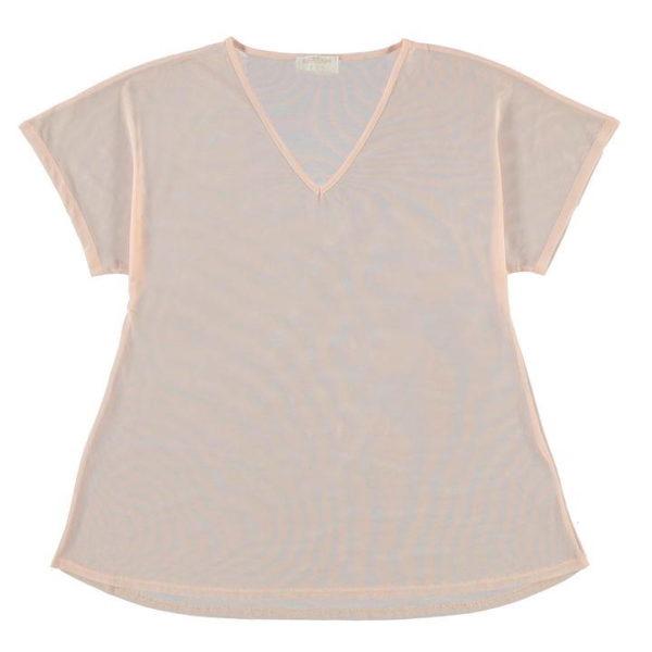 Mesh Cover T Shirt dámské