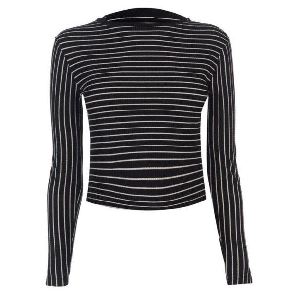 Blackseal s dlouhým rukávem Pruhované tričko