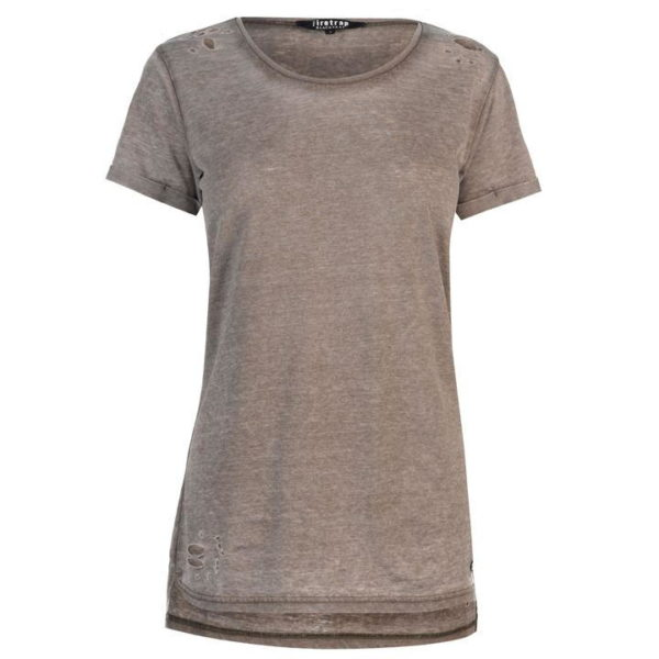 Blackseal Dusty Ripped T Shirt