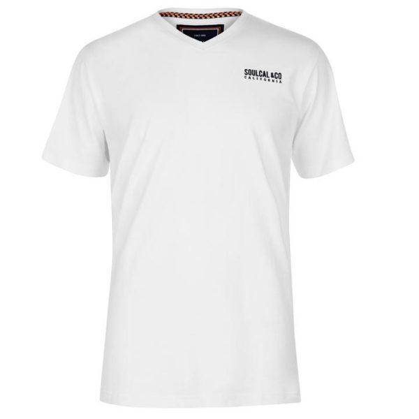 Malé logo V Neck T Shirt Pánské