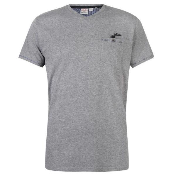 Zkontrolujte tričko Trim V Neck T Shirt Mens