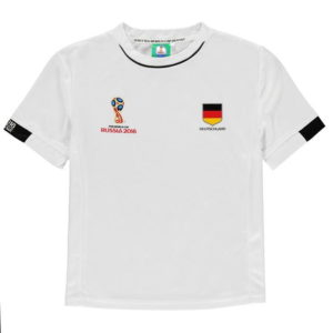 Světový pohár Rusko 2018 Německo Grafické T košile kojence