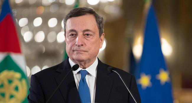 """Draghi: """"Nuovi posti di lavoro si creano con la digitalizzazione"""""""