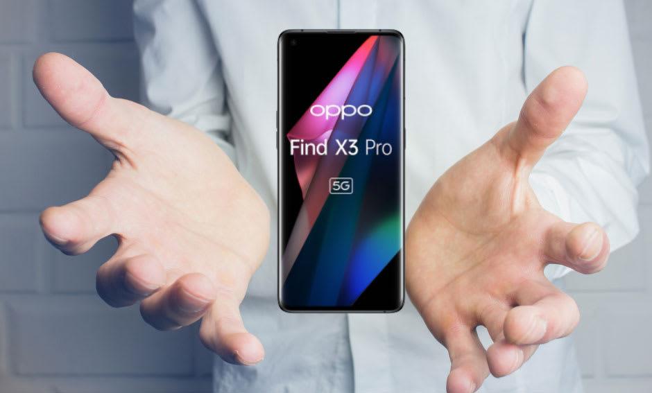 Oppo lancia nuova famiglia di smartphone Find X3, tutti 5G