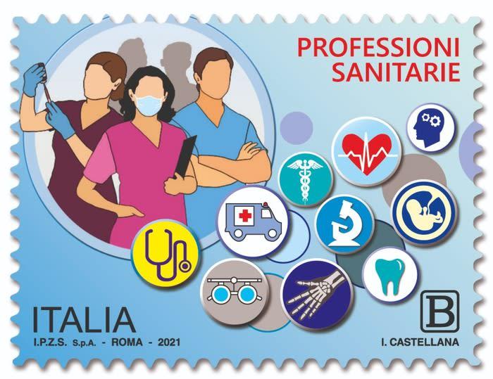 Emesso un francobollo dedicato alle professioni sanitarie