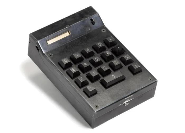 All'asta prima calcolatrice portatile, vale fino a 50mila dollari