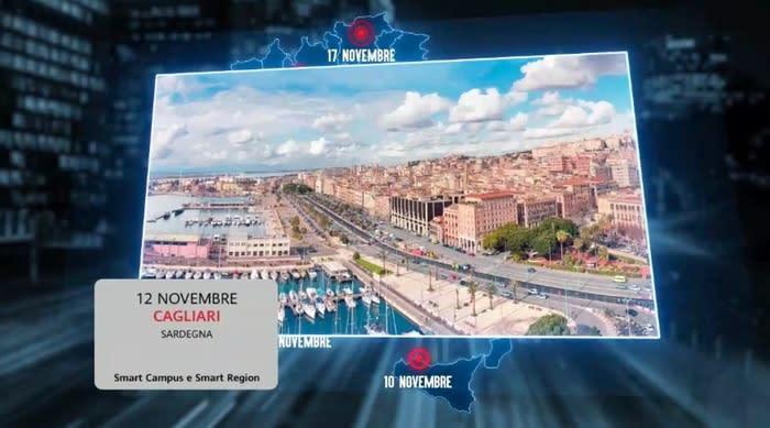 """Huawei Smart City Tour, """"la Sardegna può fare da modello"""""""