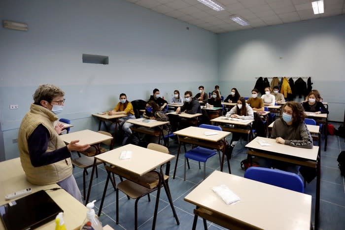 Scuola: Sebastiani (Cnr), contagi in salita tra 0 e 9 anni