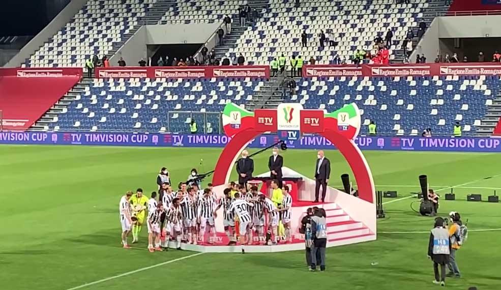 Coppa Italia 2021  Atalanta Juventus 1-2