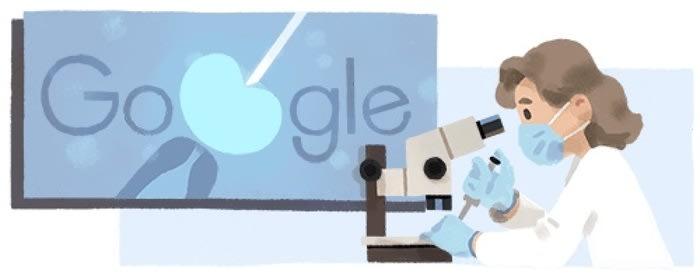 Google celebra genetista britannica pioniera fecondazione