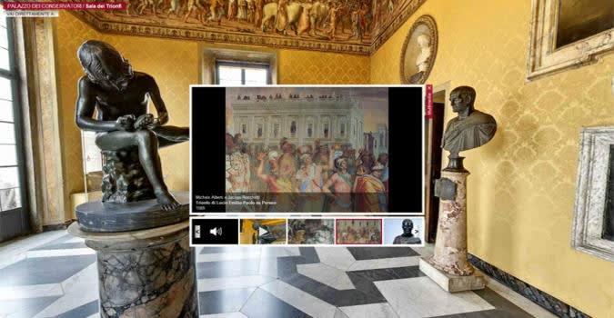 Musei digitali, Italia in partita