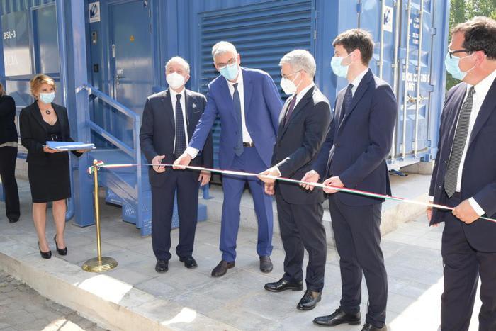 Iss, inaugurato un nuovo laboratorio semovibile ad alta sicurezza