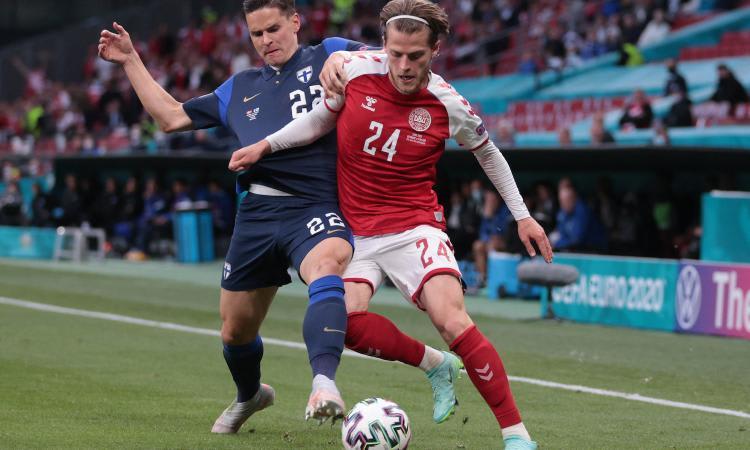Danimarca-Finlandia 0-1, il tabellino