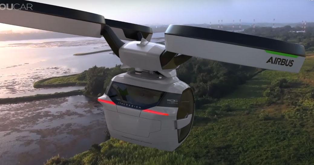 Negli Usa drone-bus da 40 posti per collegamenti tra città