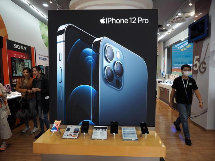 Mercato smartphone, nel primo trimestre domina iPhone 12