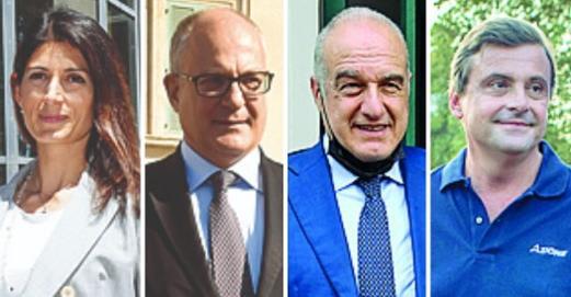 """Corsa al Campidoglio: """"Populares"""" contro """"ottimati"""": i 4 gladiatori di"""