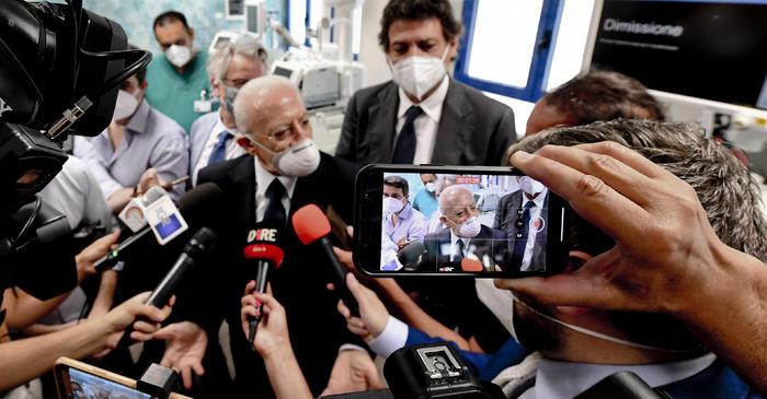 """De Luca: """"Sono un po' preoccupato per la Salernitana"""""""