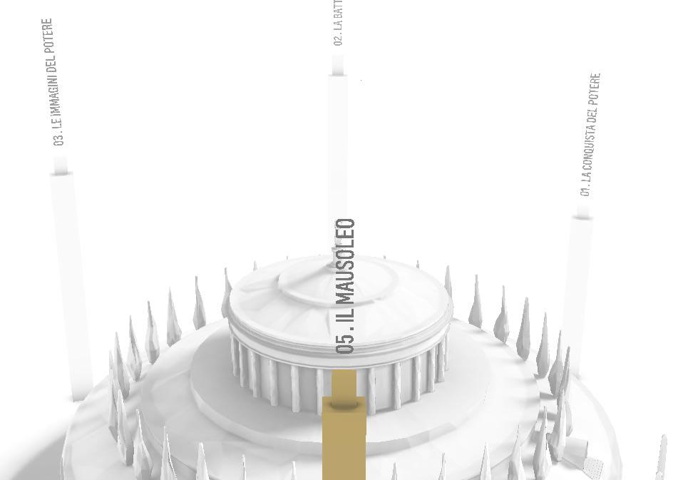 Il Mausoleo di Augusto diventa (anche) multimediale, Fondazione Tim e